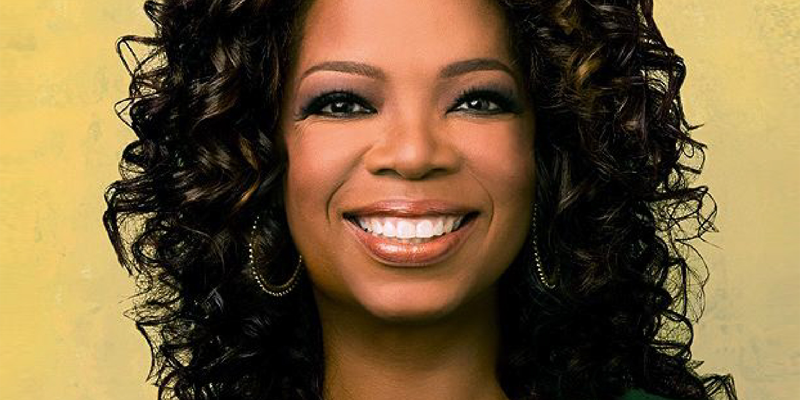 Oprah Winfrey values concern for others