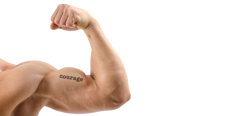 Ask for help - Courage Muscle